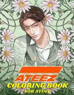 ATEEZ Coloring Book for ATINY