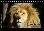 Welt der Katzen - Löwen (Tischkalender 2022 DIN A5 quer)
