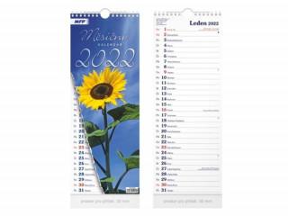 Měsíční vázankový 2022 - nástěnný kalendář