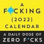 A F*cking 2022 Boxed Calendar: A Daily Dose of Zero F*cks