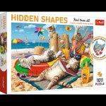 Puzzle Hidden Shapes 1011 Kocie wakacje 10674
