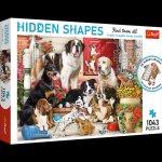 Puzzle Hidden Shapes 1043 Psia zabawa 10675
