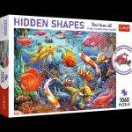 Puzzle Hidden Shapes 1060 Podwodne życie 10676