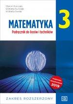 Nowe matematyka podręcznik dla klasy 3 liceum i technikum zakres rozszerzony MAPR3