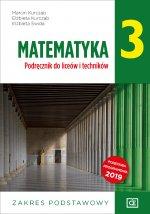Nowe matematyka podręcznik dla klasy 3 liceum i technikum zakres podstawowy MAPP3