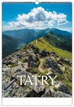 Tatry 2022 - nástenný kalendár