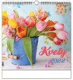 Kvety 2022 - nástenný kalendár