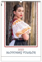 Slovenský folklór 2022 - nástenný kalendár