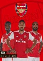 Official Arsenal FC A3 Calendar 2022