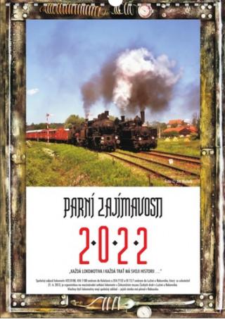Parní zajímavosti - nástěnný kalendář 2022