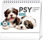 Psy s menami psov 2022 - stolový kalendár
